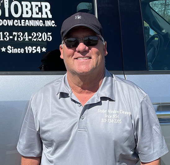 Dan Stober - Owner of Stober Window Cleanign in Cincinnati